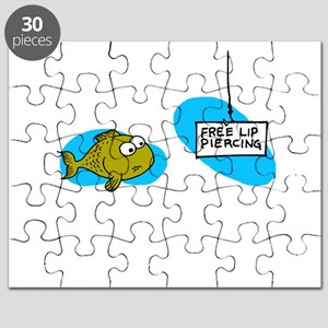 Lip Piercing Puzzle