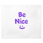 Be Nice King Duvet