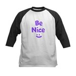 Be Nice Kids Baseball Jersey