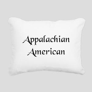 Appalachian American Rectangular Canvas Pillow
