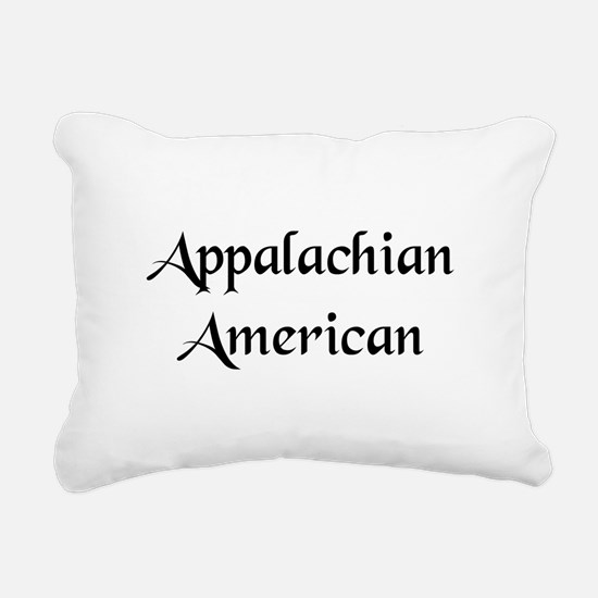 Appalachian American Rectangular Canvas Pillow