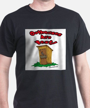 Cute Outhouse T-Shirt