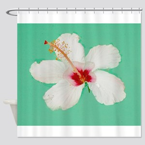 Dainty Floater Shower Curtain