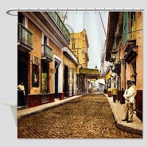 Calle de Habana Shower Curtain
