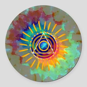 Sobrietyaustin Round Car Magnet