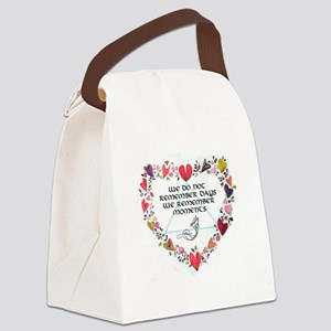 momentstCARD Canvas Lunch Bag