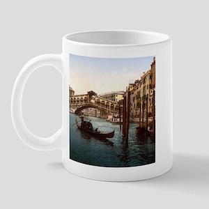 Vintage Rialto Bridge Mug