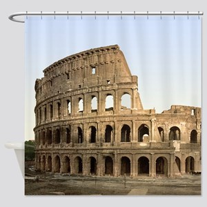 Vintage Colosseum Shower Curtain