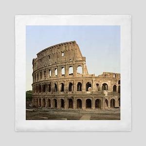 Vintage Colosseum Queen Duvet