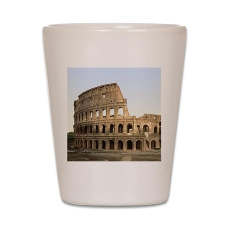 Vintage Colosseum Shot Glass