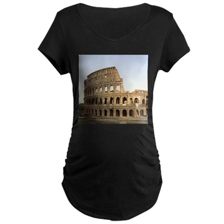 Vintage Colosseum Maternity Dark T-Shirt