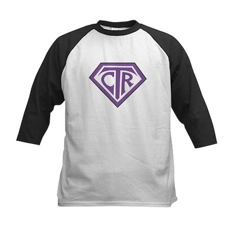 Royal CTR emblem Kids Baseball Jersey