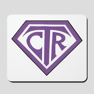 Royal CTR emblem Mousepad