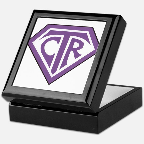 Royal CTR emblem Keepsake Box