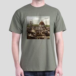 Vintage Florence Cathedral Dark T-Shirt