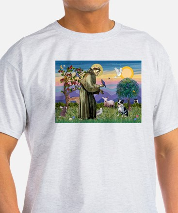St Francis / Cattle Dog T-Shirt