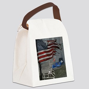State of the Union Canvas Lunch Bag