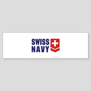 SWISS NAVY Bumper Sticker