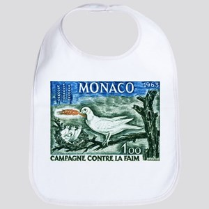1963 Monaco Campaign Against Hunger Stamp Bib
