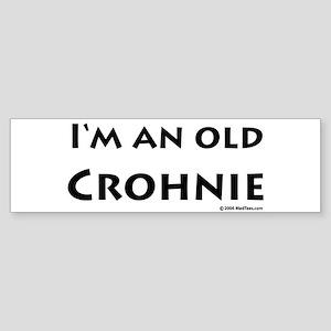 Old Crohnie Bumper Sticker