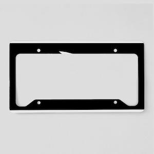 Thomas Tew Flag License Plate Holder