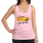 Instant Snowmobiling Buddy Racerback Tank Top
