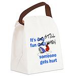 It's Still Fun Canvas Lunch Bag