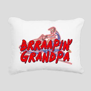 Brraapin' Grandpa Rectangular Canvas Pillow