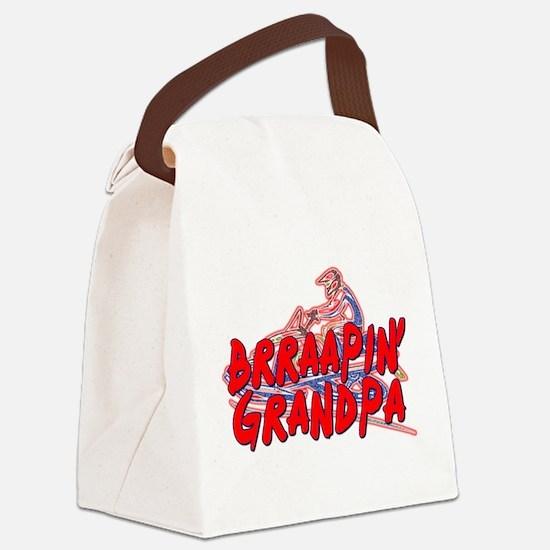 Brraapin' Grandpa Canvas Lunch Bag