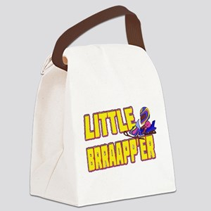 Little Brraapp'er Canvas Lunch Bag