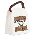 Hunters/Buck Canvas Lunch Bag