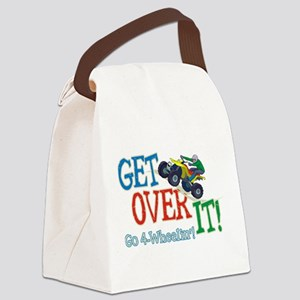 Get Over It - 4 Wheeling Canvas Lunch Bag