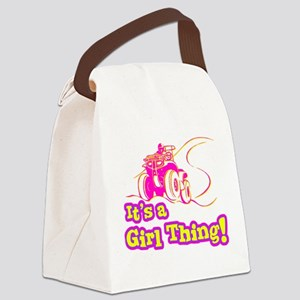 4x4 Girl Thing Canvas Lunch Bag