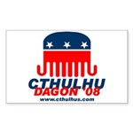 Cthulhu 2008 Sticker (Rectangle 10 pk)