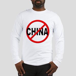Anti / No China Long Sleeve T-Shirt