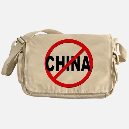 Anti / No China Messenger Bag