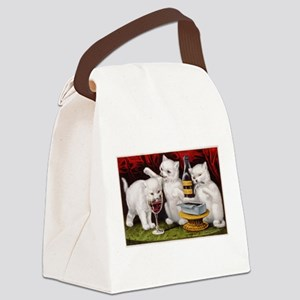 The Three Kittens Canvas Lunch Bag