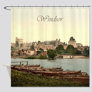 Vintage Windsor Castle Shower Curtain