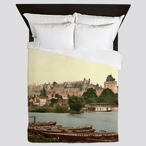 Vintage Windsor Castle Queen Duvet