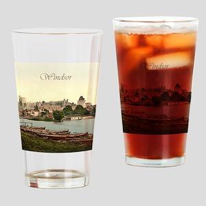 Vintage Windsor Castle Drinking Glass
