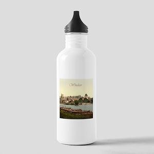 Vintage Windsor Castle Stainless Water Bottle 1.0L