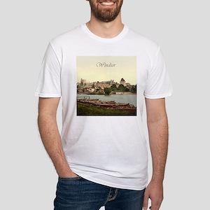 Vintage Windsor Castle Fitted T-Shirt