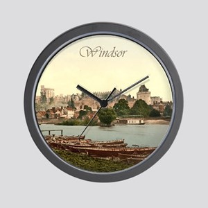 Vintage Windsor Castle Wall Clock