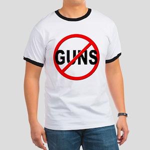 Anti / No Guns Ringer T