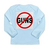 Anti gun Long Sleeve Tees