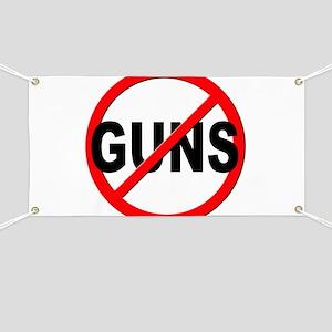 Anti / No Guns Banner