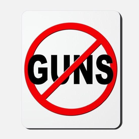 Anti / No Guns Mousepad