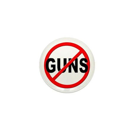 Anti / No Guns Mini Button