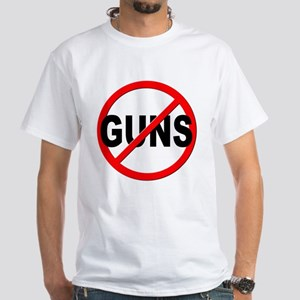 Anti / No Guns White T-Shirt