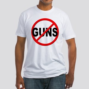 Anti / No Guns Fitted T-Shirt